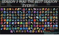 Memes, Twitch, and Best: EASON 3 WAS THE BEST SEASON Which season was the best for you??  Wristband giveaway type NUGGET in twitch chat => www.twitch.tv/wingolos