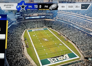 Cowboys fans took their frustration to Madden and beat the Eagles ass their damn selves 😂 https://t.co/OLFKn6Y26Y: EASPORTS  DAL 113 O PHI  ARCADE  4th  0:03 35-  EALLES  है Cowboys fans took their frustration to Madden and beat the Eagles ass their damn selves 😂 https://t.co/OLFKn6Y26Y