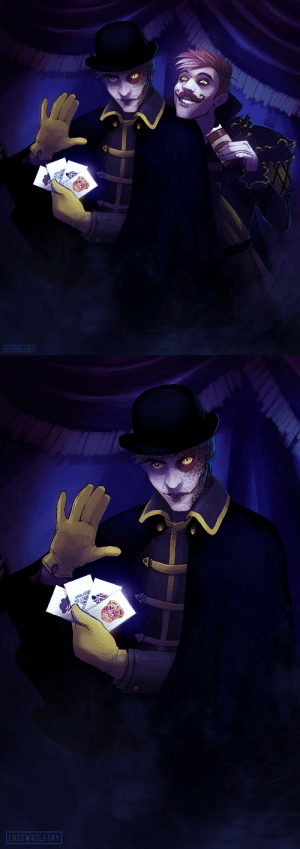 Omg, Target, and Tumblr: EASTWHILESKY   EASTWHILESKY thatsthat24:  erstwhilesky-art:  The Dark SidesDeceit  Remus  Omg… this is absolutely incredible!!!