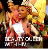 Memes, Queen, and 🤖: EAUTY QUEEN  WITH HIV 4 APR: Miss Congo UK's annual awards ceremony is a celebration Congolese beauty, culture and tradition. But this year, the winning act highlighted the plight of millions of Africans who suffer with HIV. Find out more about HIV and Congo: bbc.in-congo MissCongoUK DRCongo Congo HIV BeautyQueen Aids BBCShorts @BBCNews BBCNews