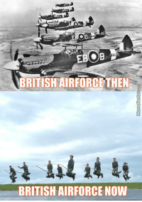 EBOB  BRITISHAIRFORCETHEN  BRITISH AIRFORCE NOW The ministry has fallen. Scrimgeour is dead. They are coming.