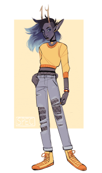 Target, Tumblr, and Blog: EC official-spec:  drew (vriska) loosely based on this post