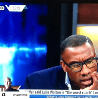 """Basketball, Luke Walton, and Nba: ED  2.7.19  Var said Luke Walton is """"the worst coach"""" Lor  What's vour higgest issue with luk  overtime Lavar back to his old ways 🤦♂️😂 (Via @undisputedonfs1, h-t:@overtime)"""