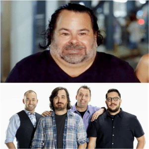 Ed from 90 days fiance looks like all of the Impractical Jokers mashed together.: Ed from 90 days fiance looks like all of the Impractical Jokers mashed together.