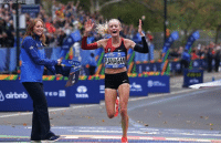 BREAKING NEWS: Shalane Flanagan becomes first American woman since 1977 to win NYC Marathon.: ED PRES  FLANAGAN BREAKING NEWS: Shalane Flanagan becomes first American woman since 1977 to win NYC Marathon.