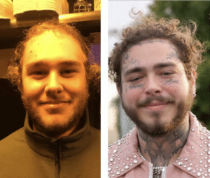 This is my friend… we call him pre-malone: ed This is my friend… we call him pre-malone