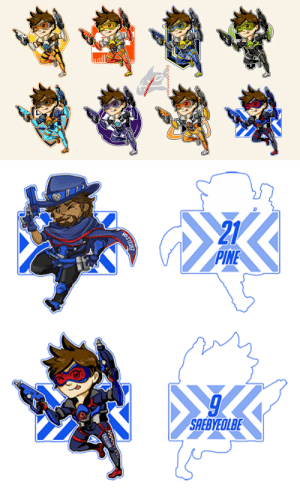 Tumblr, Blog, and Good: ed9raueconsPiracy   21  PINE   SAEBYEOLBE redgraveconspiracy: the overwatch league starts in THREE DAYS so i drew all the Tracer overwatch league skins that have thus far been released or that I could find actual references for bc i'M READy and also the default tracer bc i hadn't drawn a small tracer yet also im testing some stuff so that's the bottom two doohickeys anyways all the skins look good on tracer im pleased