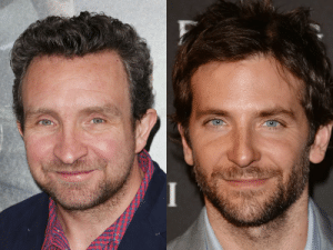 Eddie Marsan looks like someone tried to draw Bradley Cooper from memory and failed.: Eddie Marsan looks like someone tried to draw Bradley Cooper from memory and failed.