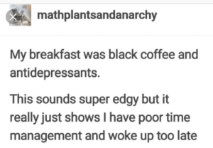 Edgy Breakfast: Edgy Breakfast
