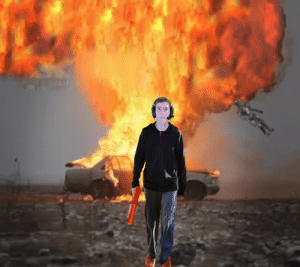 Edited Linus in front of an explosion, what should I do next?: Edited Linus in front of an explosion, what should I do next?