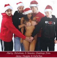 Merry Christmas from FaZe Clan: EE  Merry Christmas Seasons Greetings from  Jenna Chapple Faze aan. Merry Christmas from FaZe Clan