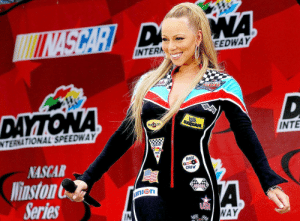 Nascar, Pro, and Race: EEDWAY  INTERA  INTE  NTERNATIONAL SPEEDWAY  PRO  RACE  NASCAR  CREW  linston  STOCK  Series  IN  WAY Nascar was illegitimate until Mariah came along