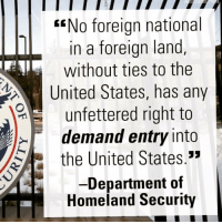 Memes, Homeland, and Military: EENo foreign national  IL In a foreign land  without ties to the  United States, has any  unfettered right to  demand entry into  33  the United States  Department of  Homeland Security 💀 Tattoo this shit in your cranium 🇺🇸🇺🇸🇺🇸 There is a new Sheriff in town 👊💀👍 UncleSamsMisguidedChildren 💀 Check out our store. Link in bio. 💀 LIKE our Facebook page 💀 Subscribe to our YouTube Channel 💀 Visit our website for more News and Information. 💀 www.UncleSamsMisguidedChildren.com 💀 Tag and Join our Misguided Family @unclesamsmisguidedchildren Use code USMCNATION10 for 10% off MisguidedLife MisguidedNation USMCNation Apparel PewPewLife 2A Military MolonLabe igTactical veteran Troops MAGA Veterans AirForce Gun Ammo USMC 0311 Army Navy K9 Infantry Grunt Guns Police Operator