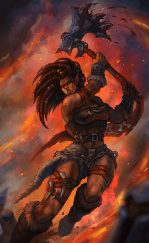 eepoxdraws:  Red fury, unrelenting and bold.These are the words of an orc that are told.With axe in hand, she tore asunder.Enemies and even clouds of thunder.Heart of steel, wearing fur and leather.completing her, all together.Many thanks to Coddler who wrote the beautiful poem for Manata!: eepoxdraws:  Red fury, unrelenting and bold.These are the words of an orc that are told.With axe in hand, she tore asunder.Enemies and even clouds of thunder.Heart of steel, wearing fur and leather.completing her, all together.Many thanks to Coddler who wrote the beautiful poem for Manata!