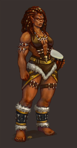 eepoxdraws:  Manata dressed for a tribal festival where she played the drums with her mother and also shared a story about one of her ancestors.: EERX eepoxdraws:  Manata dressed for a tribal festival where she played the drums with her mother and also shared a story about one of her ancestors.