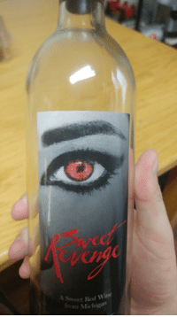 Naruto, Wine, and Michigan: eet Red Wine  from Michigan  A Sweet The drink that is is edgelord approved