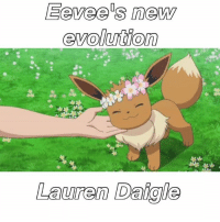 Eevee s new  evolution  Lauren Daigle Lauren Daigle