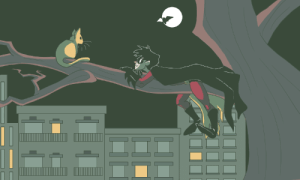 "effarstudioproductions:  ""So. Come here often?"" Tim Drake is and always will be my favorite Robin ever ffffffff I feel like Timmy here spent a lot of the time hanging out with cats in his solo-series. Do all Bats just have a soft spot for felines?  : effarstudioproductions:  ""So. Come here often?"" Tim Drake is and always will be my favorite Robin ever ffffffff I feel like Timmy here spent a lot of the time hanging out with cats in his solo-series. Do all Bats just have a soft spot for felines?"