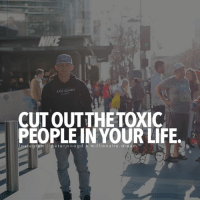 Memes, 🤖, and Dream: .EGE 14DARY  CUT OUTTHE TOXIC  PEOPLE IN YOUR LIFE.  Inst a gram lle  eterjvoogd ki millionaire dream  eter,v00 Cut out all those toxic people in your life and focus on those you love ❤