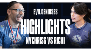 #EGFGC competitor @NYChrisG may get knocked down, but he gets back up again. Ain't nothin' gonna keep him down. Don't miss these highlights of his epic battle with @HelloKittyRicki. #LIVEEVIL   https://t.co/FshUVZByfc https://t.co/B8VQXJfzHl: #EGFGC competitor @NYChrisG may get knocked down, but he gets back up again. Ain't nothin' gonna keep him down. Don't miss these highlights of his epic battle with @HelloKittyRicki. #LIVEEVIL   https://t.co/FshUVZByfc https://t.co/B8VQXJfzHl