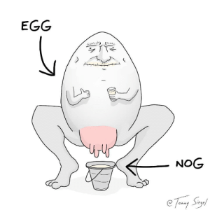 i am sorry but i have to show you the truth [OC]: EGG  NOG i am sorry but i have to show you the truth [OC]