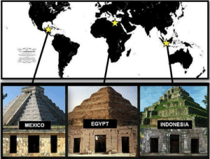 yousmellsofruity:  snotvanilla:  odins-one-eyed-fuck:  lovelyphantasmagoria:  setbabiesonfire:  swallowedwholeinnegatives:  What does this mean?  That, my friend, is exactly the question you have to ask.  YOU LEFT OUT THE MOTHERFUCKING CRYSTAL PYRAMIDS THEY FOUND ON THE FLOOR OF THE BERMUDA TRIANGLE  OLDER THAN THE AZTECS AND COMPLETELY SMOOTH AND 3 TIMES BIGGER THAN THE EGYPTIAN CHEOPS AND NO ONE KNOWS HOW IT GOT THERE.  IM SORRY BUT WHY IS THIS THE FIRST TIME IVE HEARD OF THE CRYSTAL PYRAMIDS WHAT IS THIS SHIT  OKAY HERE'S YOUR DEBRIEFING OF THE CRYSTAL PYRAMID BECAUSE THAT IS SOME CRAZY SHIT. IN 2012 FRENCH AND AMERICAN SCIENTISTS STUDYING THE BERMUDA TRIANGLE STUMBLED UPON THIS HUGE TRANSLUCENT PYRAMID THIS THING MEASURED 300 METERS WIDE AND 200 METERS TALL. THAT'S BIGGER THAN THE PYRAMIDS OF GIZA SO YOU COULD IMAGINE HOW CRAZY THIS WAS TO THE SCIENTISTS NOW THIS IS ALL 2000 METERS UNDERWATER. THE SCIENTISTS THEN DISCOVERED TWO HOLES AT THE TOP OF THE PYRAMID THAT MOVE WATER THRU AT AN EXTREMELY FAST RATE. THIS CAUSES MASIVE SURGE WAVES AND MIST ON THE SURFACE. THAT MAY BE THE REASON FOR THE INCIDENTS WITH BOATS AND PLANES CRASHING THERE THEY'RE SAYING THAT THIS PYRAMID COULD BE FROM THE TIME BEFORE THE BIBLE SAYS NOAH'S ARK HAPPENED OR ALIENS BUT WHATEVER IT IS THE BERMUDA TRIANGLE JUST GOT LIKE A BILLION TIMES CREEPIER  WHAT. The FUCK : EGYPT  INDONESIA  MEXICO yousmellsofruity:  snotvanilla:  odins-one-eyed-fuck:  lovelyphantasmagoria:  setbabiesonfire:  swallowedwholeinnegatives:  What does this mean?  That, my friend, is exactly the question you have to ask.  YOU LEFT OUT THE MOTHERFUCKING CRYSTAL PYRAMIDS THEY FOUND ON THE FLOOR OF THE BERMUDA TRIANGLE  OLDER THAN THE AZTECS AND COMPLETELY SMOOTH AND 3 TIMES BIGGER THAN THE EGYPTIAN CHEOPS AND NO ONE KNOWS HOW IT GOT THERE.  IM SORRY BUT WHY IS THIS THE FIRST TIME IVE HEARD OF THE CRYSTAL PYRAMIDS WHAT IS THIS SHIT  OKAY HERE'S YOUR DEBRIEFING OF THE CRYSTAL PYRAMID BECAUSE THAT IS SOME CRAZY SHIT. IN 2012