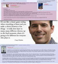 """4chan, Ass, and Bad: Eh.  O Anonymous 03/07/14(Fri)08:00 UTC No.234553273  File: 1394179249796 ipg-(98 KB, 550x855  1331421195422.jpg) exhentai  Anonymous 03/07/14(Fri)03:00 UTC No.234524890 Replies: 234525090 2234527485234536347 234553273  ile: 1394161257599.ipg-(535 KB, 2500x1041, 1386457045984.jpg) exhentai  234524890  The suffering will never end  >2345  >It's been two years already,  >Were you disappointed?  I'm still mad  I will always be mad  On my deathbed, I will still be mad  When the seas heat up the world decends into global catastrophe I will still be fucking mad  In the afterlife, when I get to the gates of Heaven, St. Peter and his angels will ask me """"Are you still mad about ME3?"""" and my answer will be """"Yes""""  When the race of man is no more and the ruins of Man's cities have crumbled into dust, I will still be mad  Ancient alien civilizations will find the smoldering, volcanic corpse of the planet Earth and decode the secrets of our ancient 'Internet, and they will find this  post and so my eternal anger will be brought forth into the far-flung reaches of space  When the last tiny flash of heat in the universe dies and all descends into entropy, my hatred will remain  I'm still so fucking mad I took the time to write this stupid fucking post, and it still doesn't make me feel even the slightest bit LESS mad  I fucking hate you Bioware  It's not like a classic game ending  where everything is linear and yo  make a choice between a few  things - it really does layer in  many, many different choices, up  to the final moments, where its  going to be different for everyone  who plays it.  -Casey Hudson  Anonymous 02/03/17(Fri)22:08:01 No.366335048366335292 2366335978 2366336179  lik: 1339966304365.ipg (102 КВ. Махі069)  >366313612 (0P)  Its gonna be five years next month and i am still not over it  Sometimes I try to be an adult about it and think things like 'well maybe l can try it again and see if it was -really- that bad' or 'well at least I can replay"""