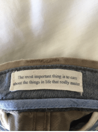 """Http, Jeans, and Via: Ehc most important thing is te c  at the things in ife that really mater  are  abn <p>Putting on my jeans make me feel better via /r/wholesomememes <a href=""""http://ift.tt/2tuqIEE"""">http://ift.tt/2tuqIEE</a></p>"""