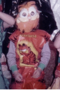 Friends, Halloween, and Tumblr: ei  arfield cursedgarfield:  My mom was sending me pictures of her and her friends' old Halloween costumes…