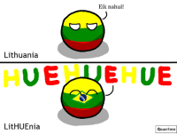 Some fresh meme for yuo guys ~ Quantum: Eik nahui!  Lithuania  UE LIEHUE  LitHUEnia  Quan lum Some fresh meme for yuo guys ~ Quantum