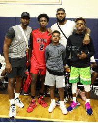 Great photo of Dwyane & Zaire Wade with LeBron, Bronny and Bryce James.   📷: @cassyathena https://t.co/WilCOL6jhb: EITT  CASSY  ATHENA  2 1 Great photo of Dwyane & Zaire Wade with LeBron, Bronny and Bryce James.   📷: @cassyathena https://t.co/WilCOL6jhb