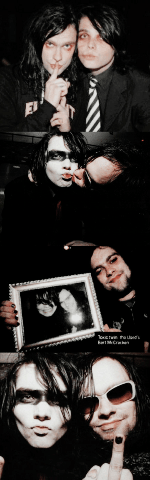 "dcmolitionlover:""one night we were making out for so long it almost wasn't funny anymore–even though it still was."": EJ   Toxic twin the Used's  Bert McCracken dcmolitionlover:""one night we were making out for so long it almost wasn't funny anymore–even though it still was."""