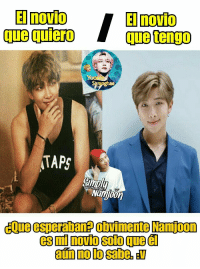 Taps, Que, and Namjoon: El novio  que quierO  ae  TAPS  Namjoon