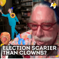 Patch Adams thinks Donald Trump and Hillary Clinton are the real scary clowns.: ELECTION SCARIER  THAN CLOWNS? Patch Adams thinks Donald Trump and Hillary Clinton are the real scary clowns.