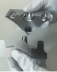Electrical discharge machining allows for a perfect fit between metal pieces: Electrical discharge machining allows for a perfect fit between metal pieces