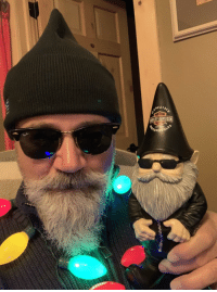 Husband, Thought, and Harley: ELEY-DAVIDSON My daughter and her husband bought me this little guy. I thought because it was a Harley gnome. They thought it looked like me. 🤷🏼♂️