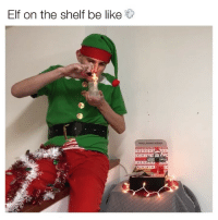 Elf on the shelf sneaky af 😏 Glass @dailyhighclub: Elf on the shelf be like  DHCS GOING GREE Elf on the shelf sneaky af 😏 Glass @dailyhighclub