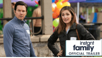 Family, Memes, and Mark Wahlberg: Elie  instant  family  OFFICIAL TRAILER Sometimes all you can do is laugh. Watch the official trailer for the new comedy Instant Family, starring Mark Wahlberg and Rose Byrne. In theaters November 16.