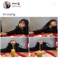 Crying, Love, and Memes: elise  @ehrees  im crying Cheese: A Love Story