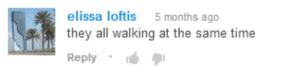 Target, Tumblr, and Blog: elissa loftis 5 months ago  they all walking at the same time  Reply . helladespair: this is my favorite comment on a marching band video