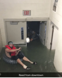 Chances of a baseball game being played when the dugout-hallway looks like this? Less than zero. ⚾️💦😳 (via rookdavis24-Twitter): ELIT  Reed from downtown Chances of a baseball game being played when the dugout-hallway looks like this? Less than zero. ⚾️💦😳 (via rookdavis24-Twitter)