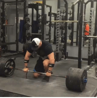 ELITE Pete Rubish Puts Up 900lbs 408kg Deadlift at a Body