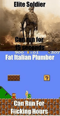 Memes, Game, and Http: Elite Soldier  fo  900 0x01 (:307  Fat Italian Plumber  0  Pecking Hours http://cupheadmemes.com/top-25-video-game-memes-of-all-time/