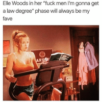"Af, Funny, and Goals: Elle Woods in her ""fuck men l'm gonna get  a law degree"" phase will always be my  fave Goals af 🙌🏻💪🏻 internationalwomensday"