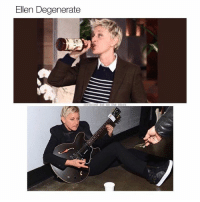 I love a good pun (@coolest_kid_on_the_block): Ellen Degenerate I love a good pun (@coolest_kid_on_the_block)