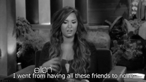 https://iglovequotes.net/: ellen  I went from having all these friends to none  LEWKY https://iglovequotes.net/