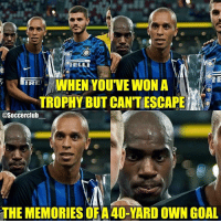 Kondogbia scored an amazing goal😂👌🏼 Rate 1-10👇🏼: ELLI  REWHEN YOUVE WON A  TROPHY BUT CANTESCAPE  @Soccerclub  THE MEMORIES OF A 40-YARD OWN GOAL Kondogbia scored an amazing goal😂👌🏼 Rate 1-10👇🏼