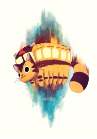 ellievsbear:Catbus fanart, because jumping buses are the best kind of buses. Although I wouldn't be able to drink coffee while traveling… What a dilemma.Instagram • Twitter: ellievsbear:Catbus fanart, because jumping buses are the best kind of buses. Although I wouldn't be able to drink coffee while traveling… What a dilemma.Instagram • Twitter