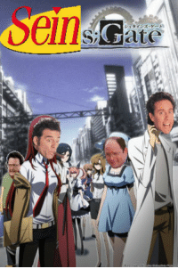 white fox and jerry seinfeld team up to make a collab of the two greatest animes of all time: elllsEate  シュタインス white fox and jerry seinfeld team up to make a collab of the two greatest animes of all time
