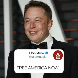 Elon Musk had this to say this morning...🇺🇸🤔 @ElonMusk https://t.co/Oibnc4qsyj: Elon Musk had this to say this morning...🇺🇸🤔 @ElonMusk https://t.co/Oibnc4qsyj